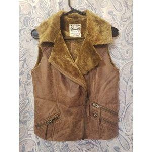 NWOT Faux Fur Vest!
